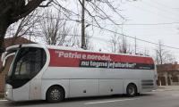 Nicusor Dan si Serban Marinescu au fost acasa la Liviu Dragnea.