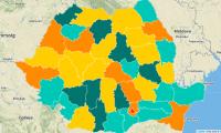 Harta Interactiva a Antreprenoriatului in Romania.
