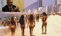 Liviu Dragnea se relaxeaza in Brazilia.