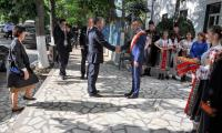 Ambasadorul Chinei primit la Videle cu pâine și sare