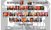 Nu da votul corupţilor! Nu vota să scape!