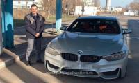 BMW si politistul.