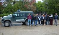 14 migranti au fost prinsi de Politia de Frontiera Turnu Magurele.