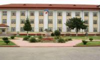 Clădirea pavilion a penitenciarului din județul Dâmbovița, de la Găești.