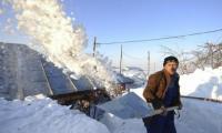 Cea mai grea iarnă din ultimul secol se instalează în România.