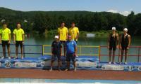 Sportivii de la clubul de kaiac al CSS Turnu Măgurele au realizat rezultate excelente la Campionatul Naţional de viteză pentru juniori II şi cadeţi.