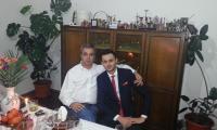 Matei Andrei si Gigi Matei. foto: facebook