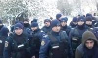 Jandarmi la Rusanesti sursa: digi24.ro