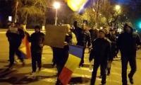 Protest la Turnu Magurele.