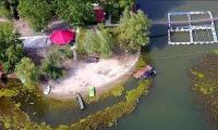 Micul paradis la Dunare detinut de Teldrum, locul preferat al pescarului Dragnea.
