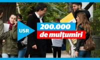 Uniunea Salvati Romania a strans 200.000 de semnaturi.