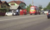 Accident auto comis de o soferita diin Tr. Magurele. foto:voceavalcii.ro