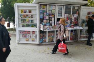 Librarie in vizuina Danielei.