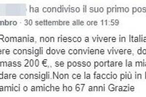 Mesajul italianului.
