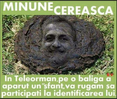 MINUNE CEREASCA PE UN CAMP DIN  TELEORMAN.
