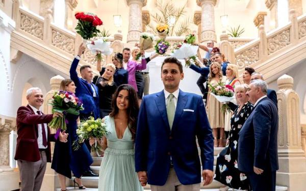 Nunta lui Dragnea junior. sursa: libertatea.ro