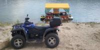 Taranusul cu ATV si skijet.