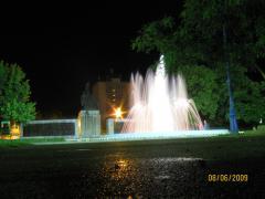 Noaptea in parc