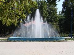 Fantana arteziana din Parcul Municipal
