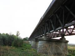 Podul de peste Sai - facut de nemti :P