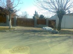 Partea casutei dinspre strada T. Vladimirescu