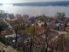 Dunare vazuta de la Nikopole