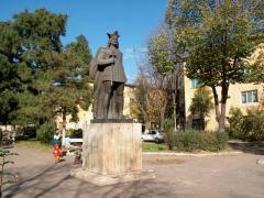 Statuia lui Mircea cel Batran,Turnu Magurele