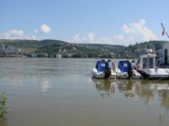 Imagine cu Dunarea crescuta