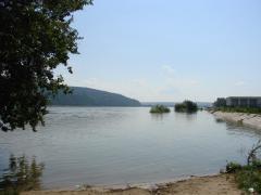 Plaja de la Dunare inundata