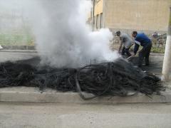 Poluare, tiganie si mizerie la Turnu de Lasatul Secului